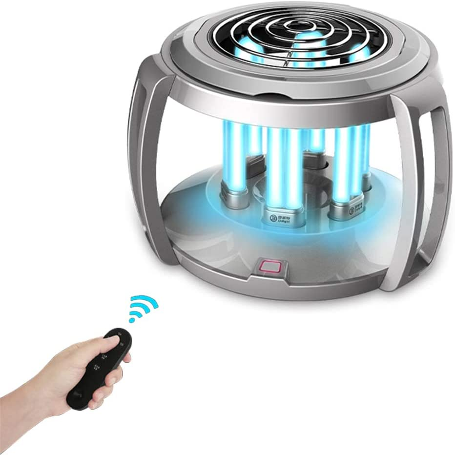 UV Sterilizer Light Ultraviolet Germicidal Disinfection Lamp Ion Air Purifier