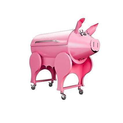 Amazon.com: Lil Pig Madera Despedido Grill: Jardín y Exteriores