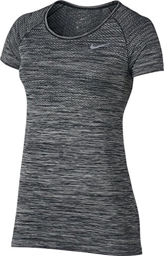Women's Nike Dry Knit Short sleeve Top, X-Large, (Paramount Blue/Vivid Sky)