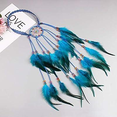 Amazon.com: JOXJOZ Boho Headband Rainbow Dream Catcher with ...