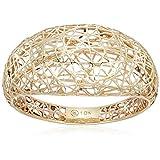 10k Yellow Gold Mesh Band Ring, size 7