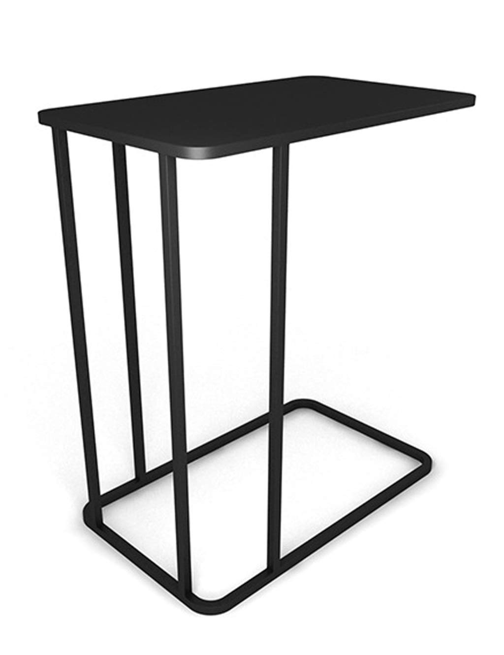 Black Sofa Side A Few Coffee Table Modern Minimalist Small Apartment Moving Bedside Table Creative Wrought Iron Side Table Side Cabinet (Black, White, gold)