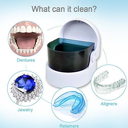 Elera Sonic Cordless Denture Cleaner Premium Jewelry Coins Cleaning Machine by ELERA (Image #3)