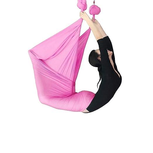 Tangzhi Hamaca de Yoga Cuerda de Yoga Antigravedad Arnés de ...