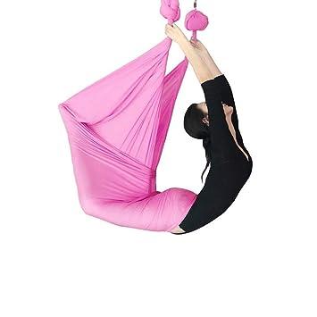 Xuetaimeigu Hamaca de Yoga Cuerda de Yoga Antigravedad Arnés ...