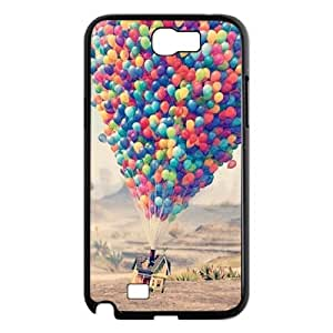 ALICASE Diy Design Back Case Balloon for Samsung Galaxy Note 2 N7100 [Pattern-1]