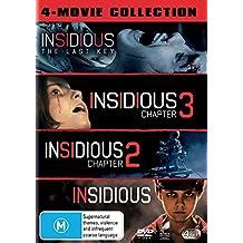 Insidious / Insidious 2 / Insidious 3 / Insidious Last Key | NON-USA Format | PAL | Region 4 Import - Australia