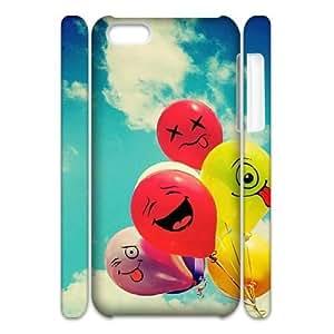 DIY iPhone 5C Cover, Custom iPhone 5C 3D Case - Balloon