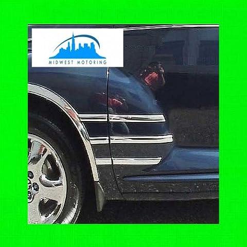 2006-2011 CHRYSLER PT CRUISER CHROME 1940S 1940'S 40S CHROME FRONT FENDER TRIM 12PC 2007 2008 2009 2010 2011 06 07 08 09 10 11 - Chrysler Pt Cruiser Fender