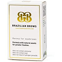 Brazilian Brows Eyebrow Henna | Medium Blonde | Pack & Tinting Kit | Profesional usage