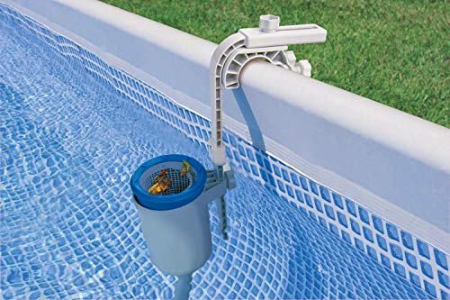 (INTEX Deluxe Wall Mount Swimming Pool Surface Skimmer)