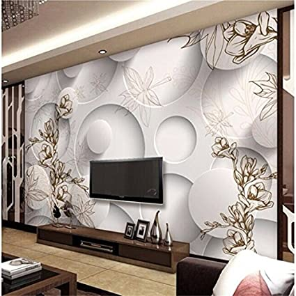 Amazon.com: Wapel Custom Photo 3D Wallpapers Modern Magnolia ...