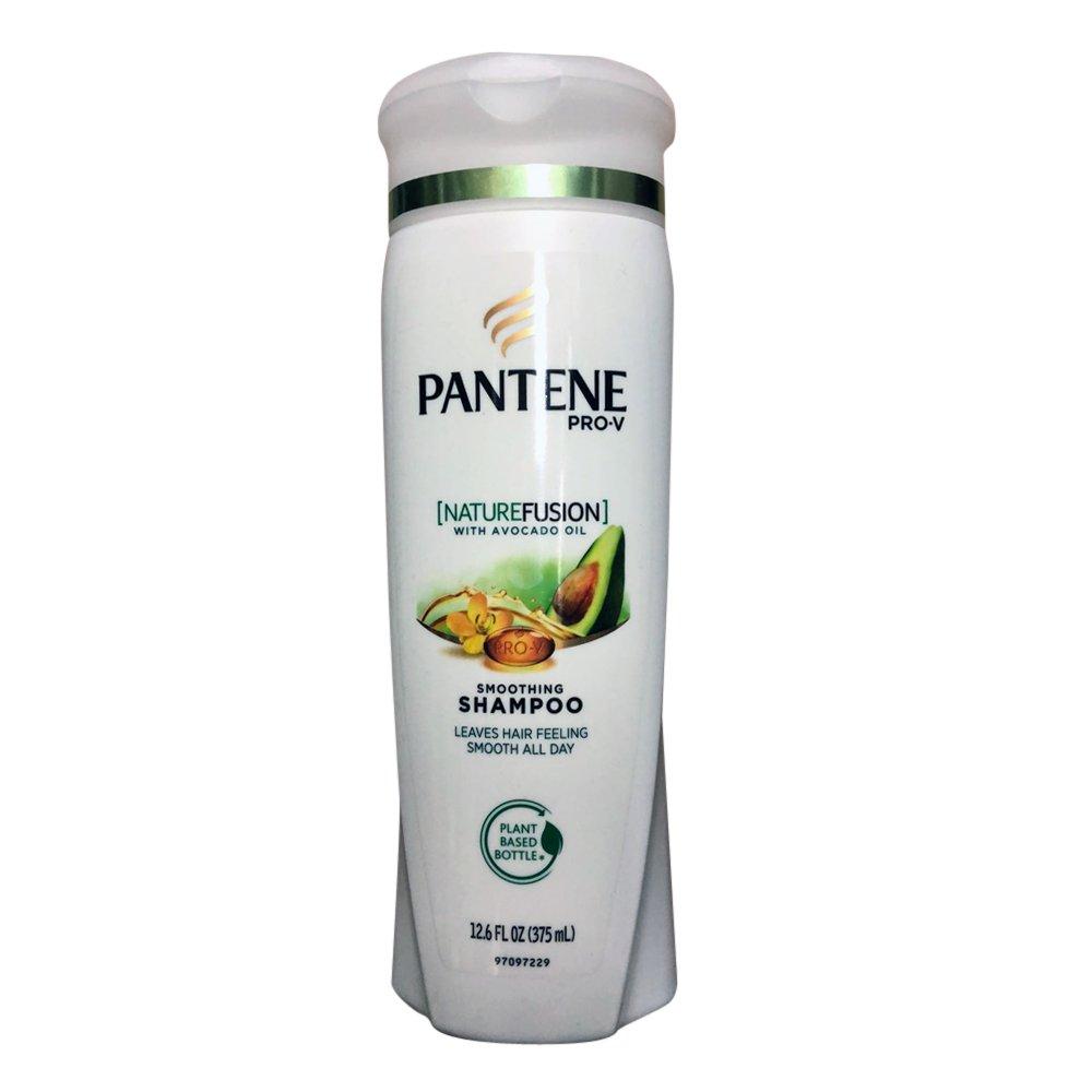 Pantene Pro-V NatureFusion Smoothing Shampoo with Avocado Oil, 12.6 fl oz ( Pack of 4 )