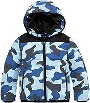 Wantdo Boy's Winter Snow Coat Waterproof Thick Padded Ski Jacket with