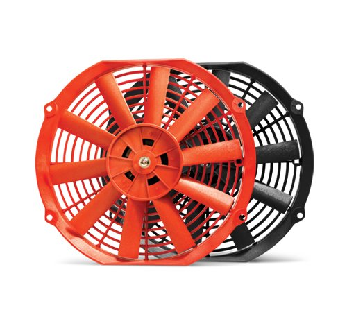 Blox Racing BXCC-00001-RD Red 10' Electric Slim Fan
