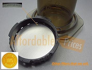 Filtro reutilizable AeroPress inoxidable - finas de acero ...
