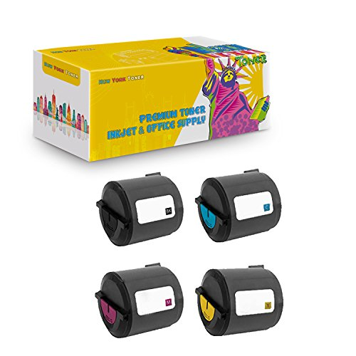 (New York TonerTM New Compatible 4 Pack 106R01274 106R01271 106R01272 106R01273 High Yield Toner for Xerox - Phaser 6110 | 6110MFP . -- Black Cyan Magenta Yellow)