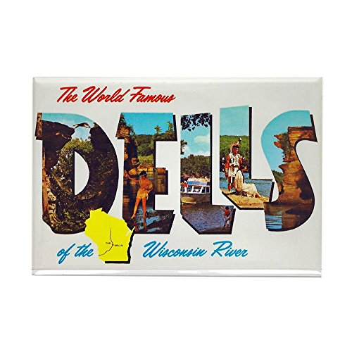 - CafePress Dells Wisconsin Greetings Rectangle Magnet, 2