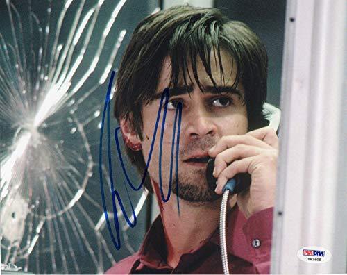 - Colin Farrell Phone Booth Stu Shepard Signed 8x10 Photo w - PSA/DNA Certified