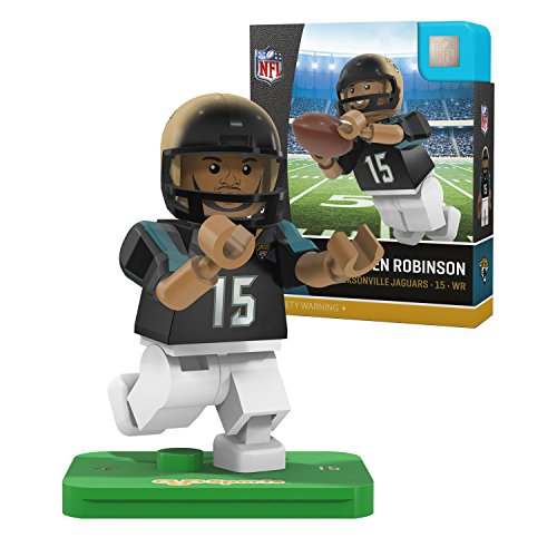 NFL Jacksonville Jaguars Gen4 Limited Edition Allen Robinson Mini Figure, Small, White