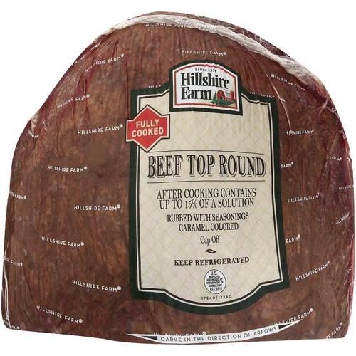 Hillshire Farms Beef Roast - Deli-Faced, Medium Well, 7 Pound -- 2 per case. (Roast Beef Deli Meat)