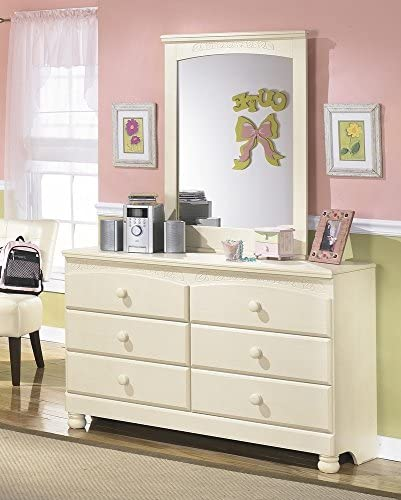 home, kitchen, furniture, bedroom furniture,  dressers 11 image Ashley Furniture Signature Design - Cottage Retreat Dresser - 6 deals