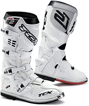 Tcx Pro 2 1 Off Road Motocross Mx Enduro Botas De Moto Blanco 41 Automotive