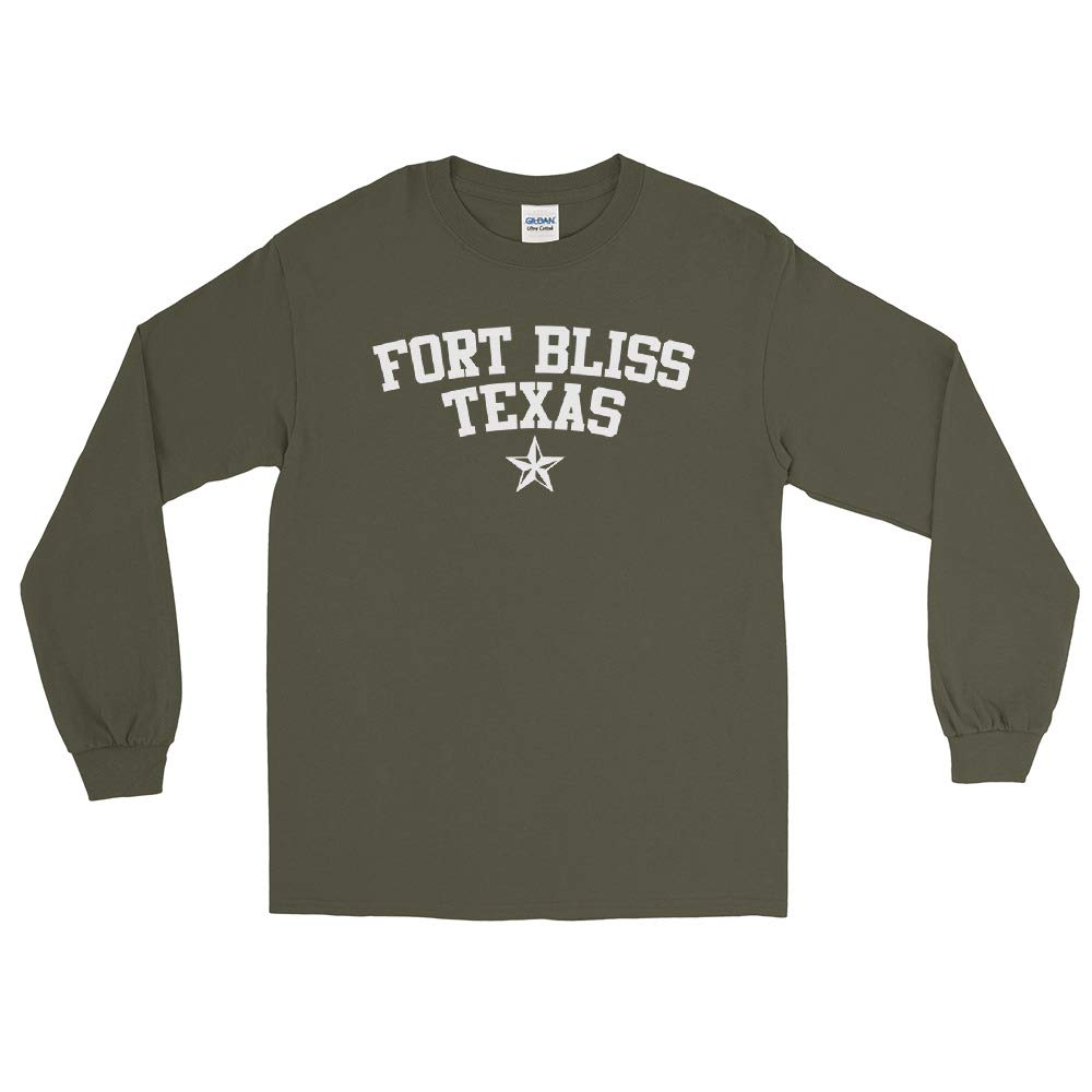 Rearguard Designs Fort Bliss Texas v3 Long Sleeve T-Shirt