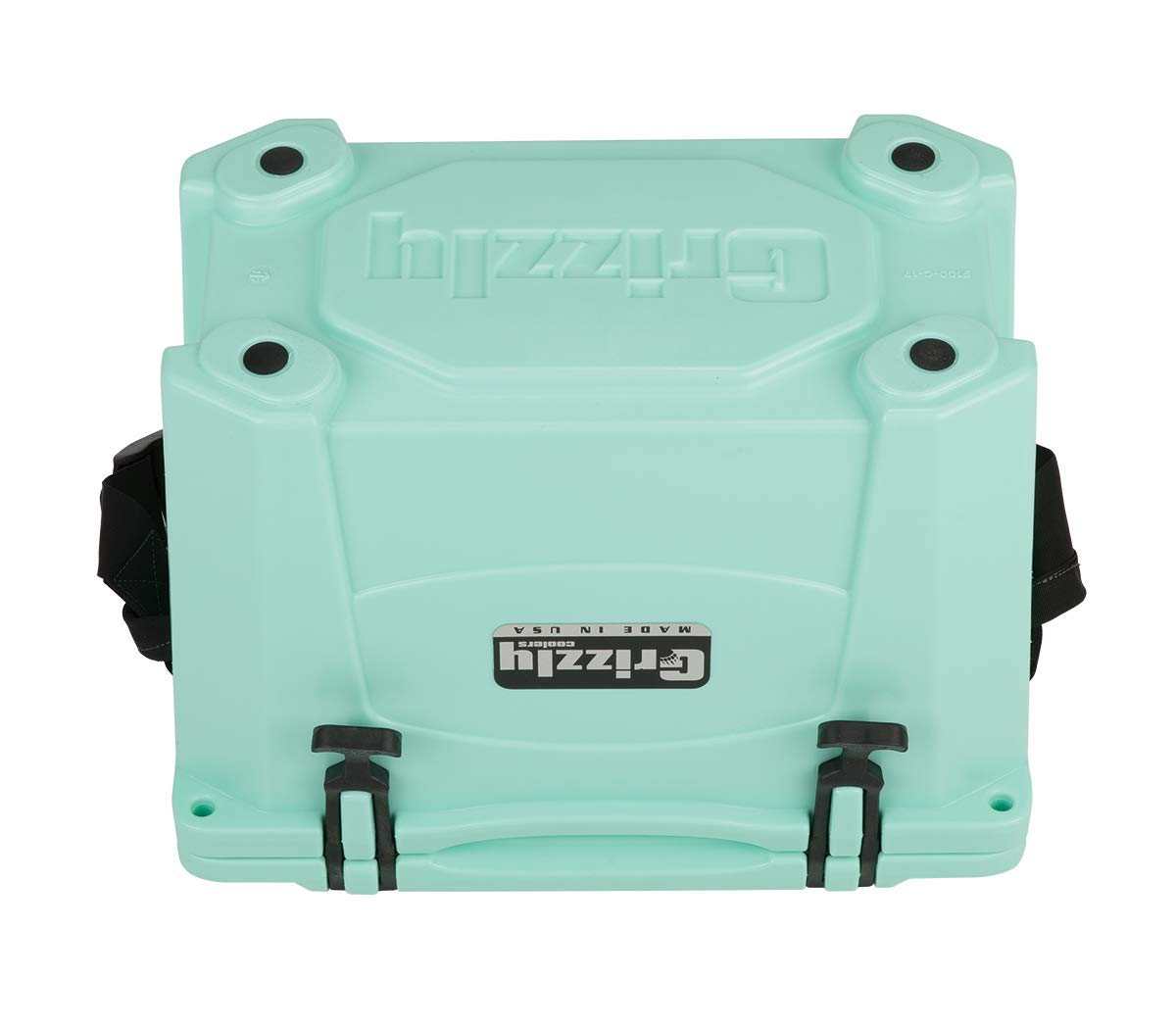 Grizzly 15 Quart Sea Foam Green Cooler by Grizzly