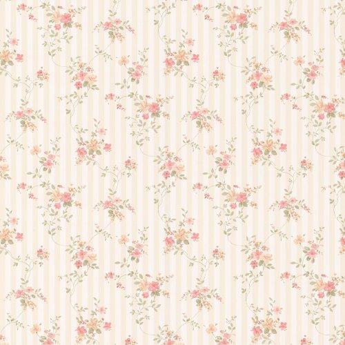 brewster-413-66374-laurie-floral-stripe-wallpaper-peach