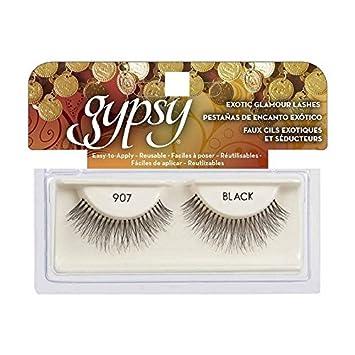 8dff4fd2daa Amazon.com : (6 Pack) GYPSY LASHES False Eyelashes - 907 Black : Beauty