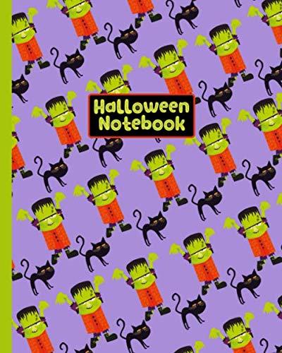 Halloween Notebook: College Ruled ()