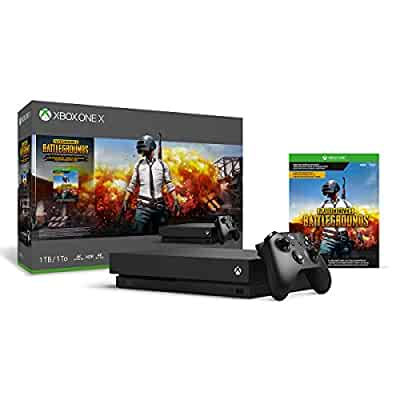 Amazon com: Xbox One X 1TB Console - PLAYERUNKNOWN'S BATTLEGROUNDS