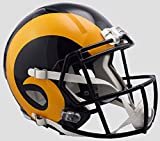 LA Rams Color Rush Officially Licensed Speed Full Size Replica Football Helmet
