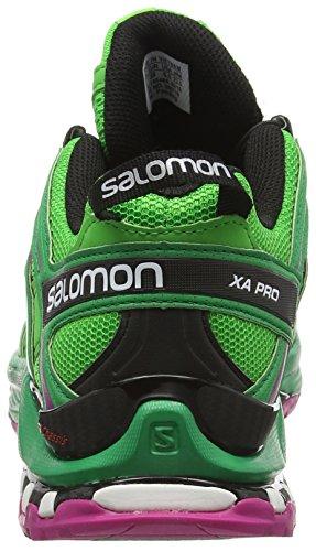 Salomon Damen L39071800 Traillaufschuhe Grün (menta Piperita / Verde Atletico X / Deep Dalhia)