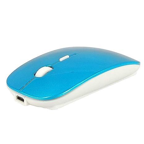 Amazon.com: Alician - Ratón de carga USB inalámbrico con ...