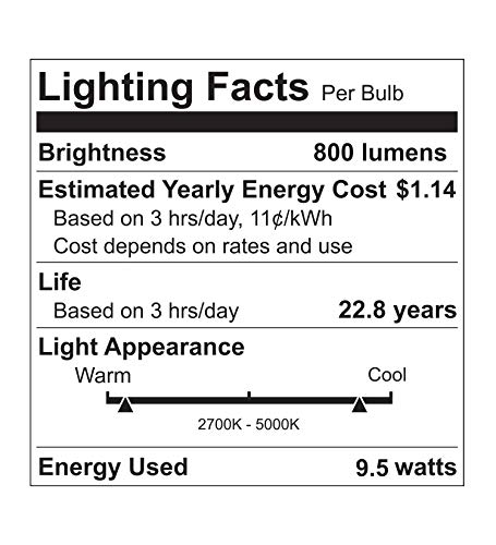 Viribright Smart LED Light Bulb, E26 RGBW WiFi Dimmable Multicolor LED Lights, 2700K to 5000K + RGBW, A19 60W Equivalent… 6