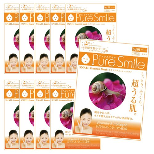 Pure Smile JAPAN Pure Smile snail ten pack