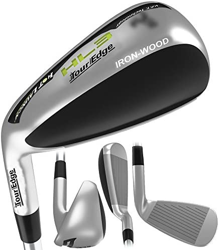Tour Edge Men s HL3 Iron-Wood, Left Hand, Regular, Graphite, 9 Hybrid