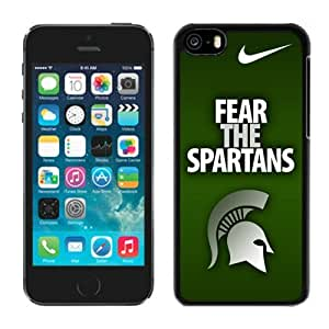 Customized Iphone 5c Case Ncaa Big Ten Conference Michigan State Spartans 12