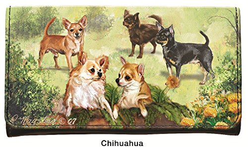 CHIHUAHUA DOG BREED WALLET BY RUTH MAYSTEAD ()