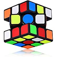 XMD 3x3x3 Speed Cube Smooth Magic Cube Puzzles 56 mm Black