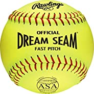 Rawlings Sporting Goods Official ASA NFHS Fastpitch Softball, 12 Count, C11RYLA
