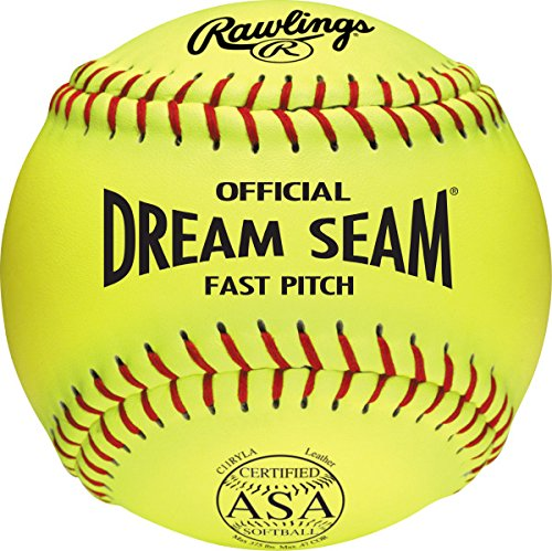 A NFHS Fastpitch Softball, 12 Count, C11RYLA (Poly Core Leather Fastpitch Softball)
