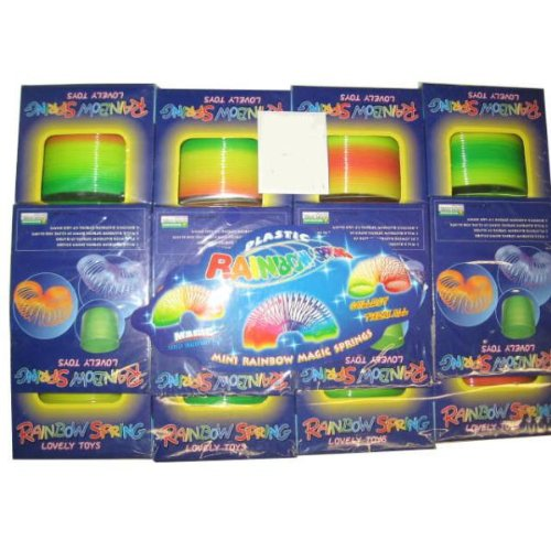 DDI Rainbow slinky type Spring Toy Case Pack 144 by DDI (Image #1)