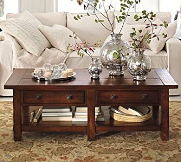 Amazoncom Pottery Barn Benchwright Coffee Table Changing Tables