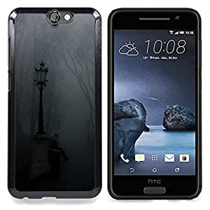 "Planetar ( Calle Vieja Ciudad Medieval"" ) HTC One A9 Fundas Cover Cubre Hard Case Cover"