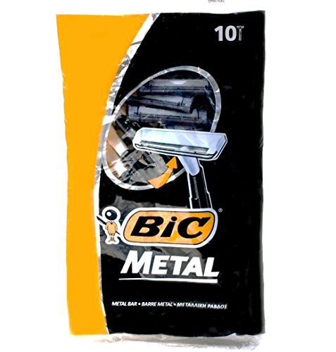 Bic Metal Disposable Shaving 10 Count