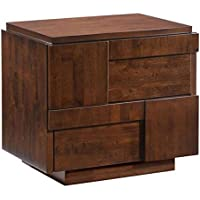 Zuo Modern San Diego Night Stand, Walnut