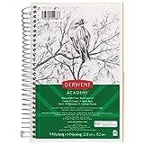 Derwent Academy Paper Sketch Journal, Wirebound, 70 Sheets, 9'' x 6'', Heavyweight (54966)